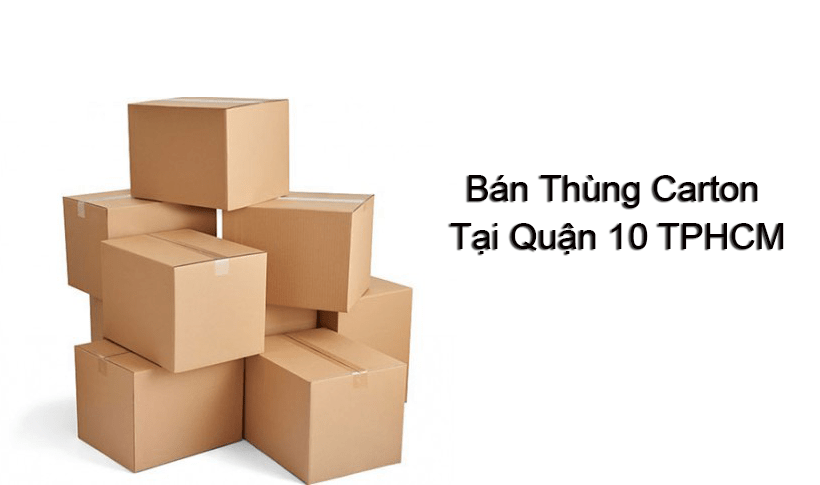 bán thùng carton quận 10