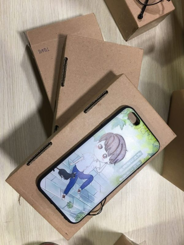 Hộp carton đựng phụ kiện điện thoại