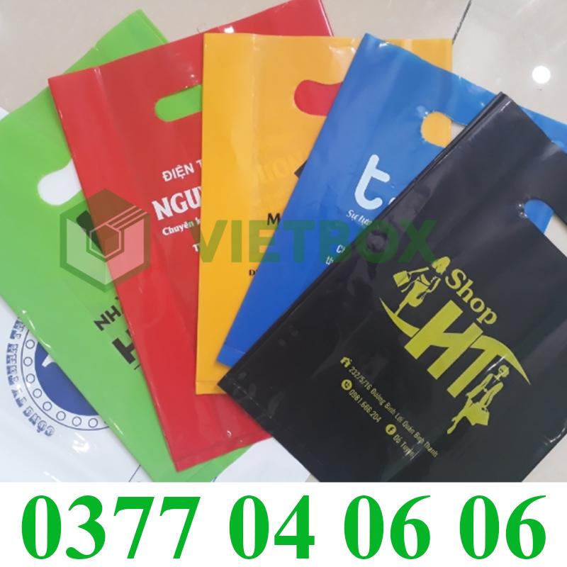 mẫu túi nilon từ dịch vụ in túi nilon của Vietbox