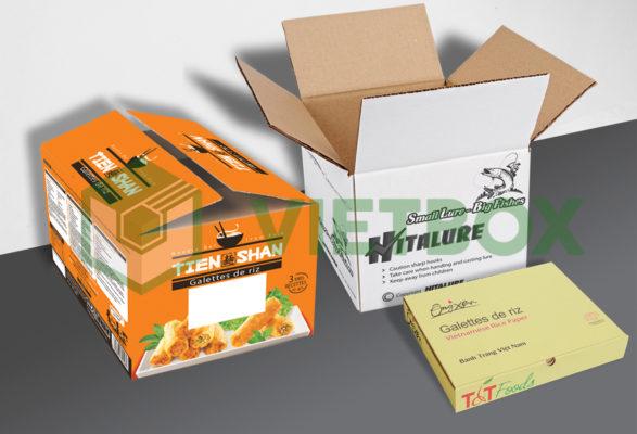 thùng carton in offset nhiều màu