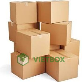 thùng carton - sản phẩm chính khi sử dụng chung với bao bì đóng gói để bảo vệ sản phẩm