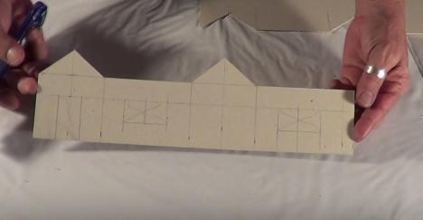 Cách làm nhà bằng giấy vô cùng đơn giản
