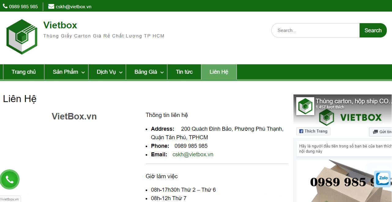 Vietbox - địa chỉ bán màng PE giá rẻ