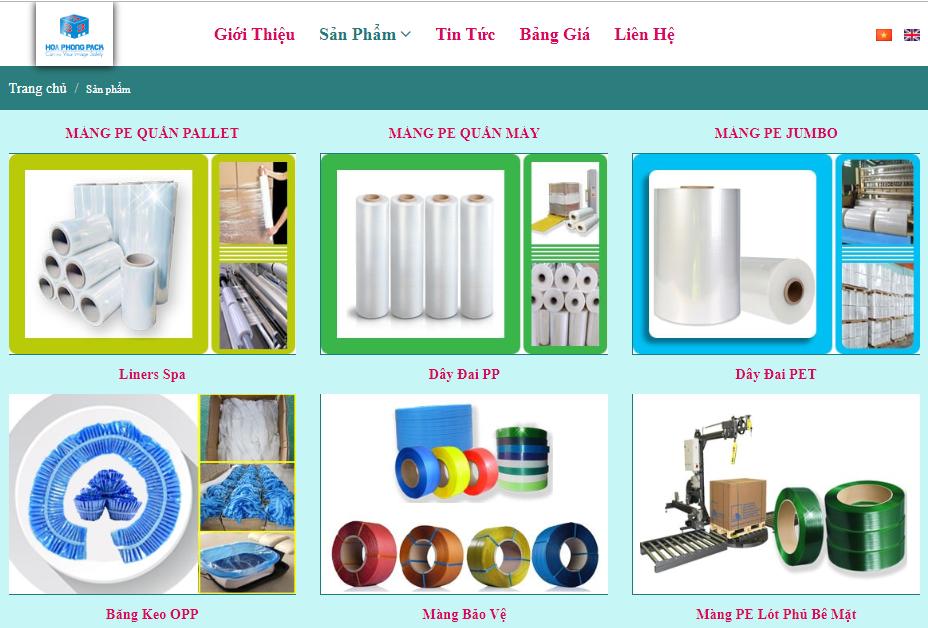 công ty Hòa Phong - một địa chỉ bán màng PE