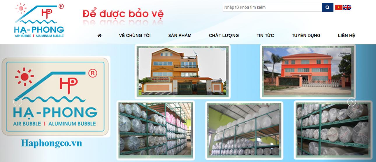 đơn vị bán màng xốp Hạ Phong