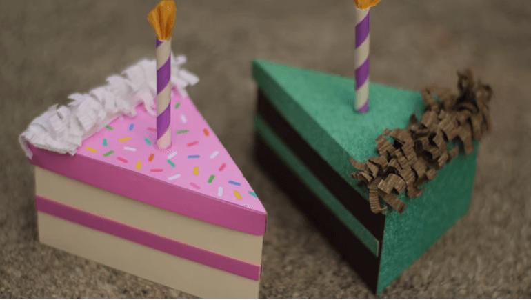 làm hộp bánh handmade
