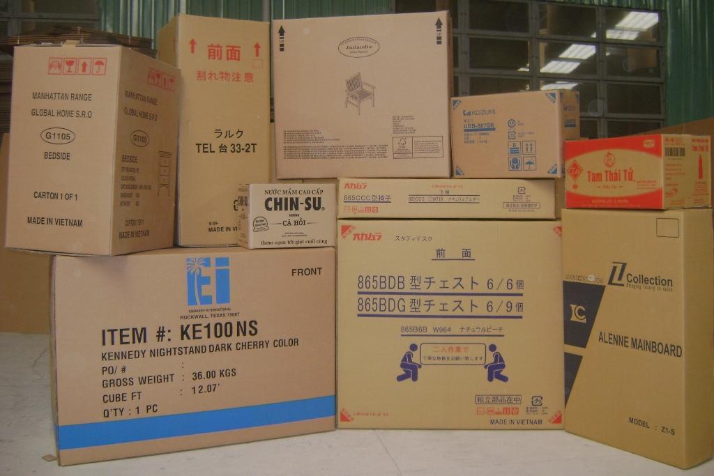 thùng carton Flexo