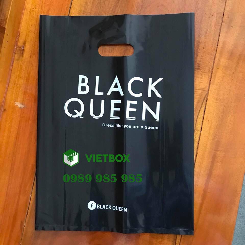 mẫu in túi xốp black queen