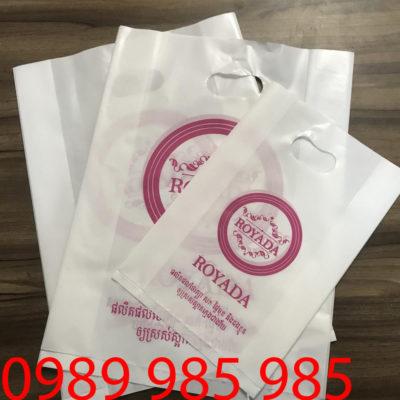 Cửa hàng Thái Lan ROYADA là khách hàng chuyên in túi ni lông của Vietbox đến thời điểm hiện tại bởi vì chất lượng và mẫu mã đẹp
