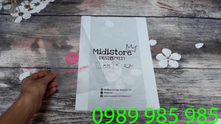 Midistore - khách hàng ruột của Vietbox trong in túi nilon