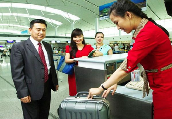 kích thước khi ký gửi hành lý