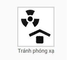 Ký hiệu tránh phóng xạ