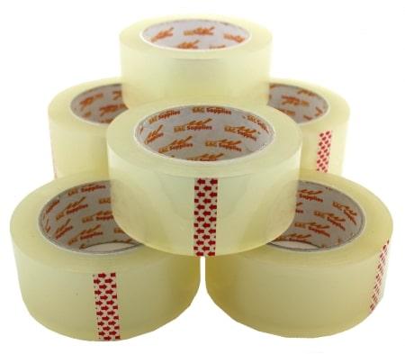 Sản phẩm băng keo hoàn chỉnh phải trải qua quá trình sản xuất băng keo nghiêm ngặt