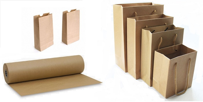 Túi giấy Kraft giá hấp dẫn