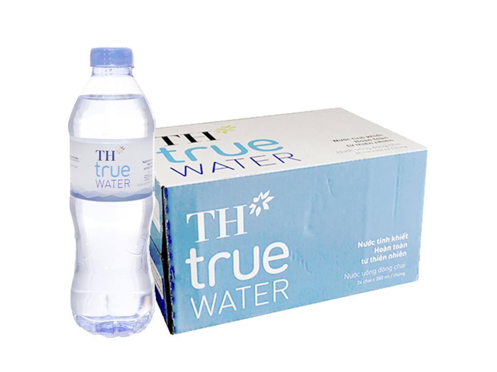 thùng carton đựng nước suối