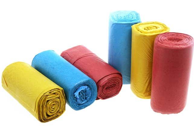 túi đựng rác 3 màu