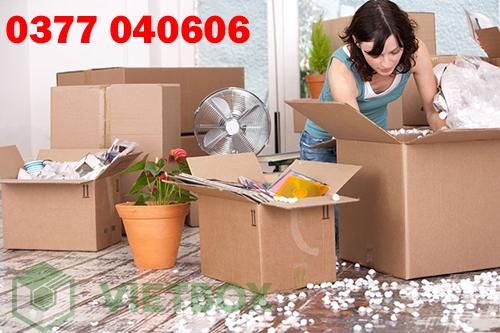 Hiện nay có rất nhiều loại thùng carton để bạn có thể sử dụng đóng gói đồ đạc văn phòng.