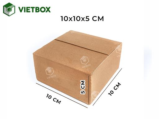 Hộp carton 10x10x5