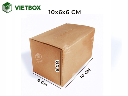 Hộp carton 10x6x6