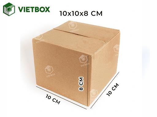 Hộp carton 10x10x8