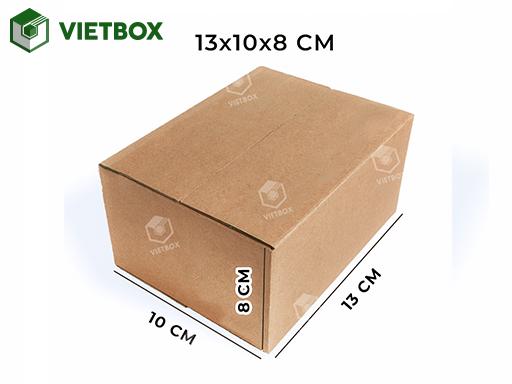 Hộp carton 13x10x8