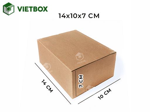 Hộp carton 14x10x7