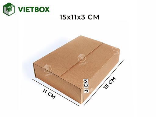 Hộp carton 15x11x3