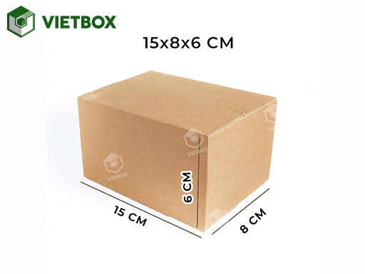 Hộp carton 15x8x6