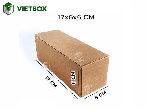 Hộp carton 17x6x6