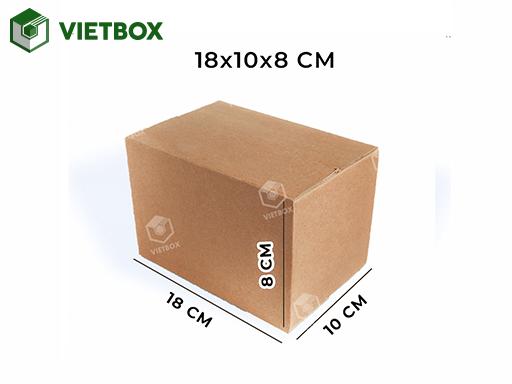Hộp carton 18x10x8