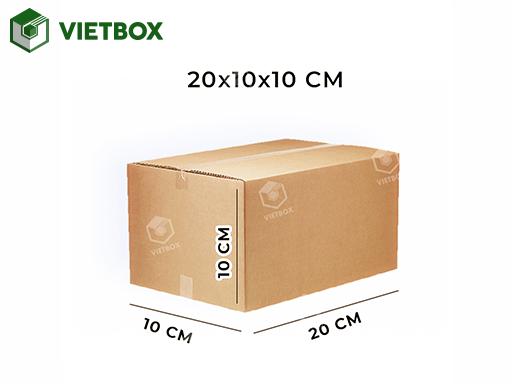 Hộp carton 20x10x10