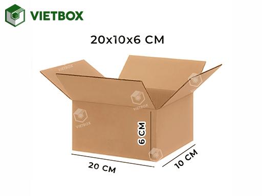 Hộp carton 20x10x6