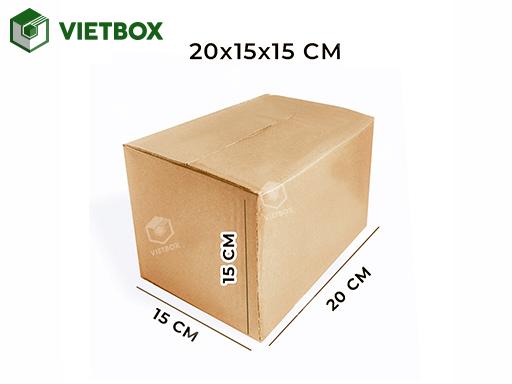 Hộp carton 20x15x15