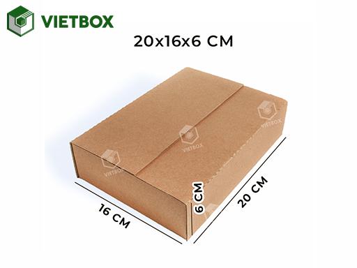Hộp carton 20x16x6