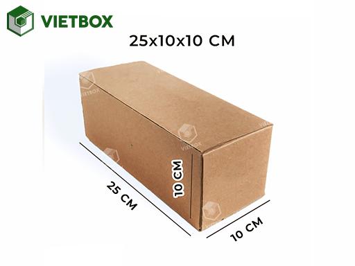 Hộp carton 25x10x10