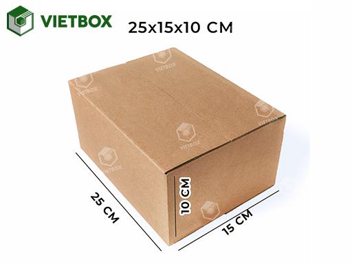 Hộp carton 25x15x10