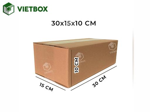 Hộp carton 30x15x10