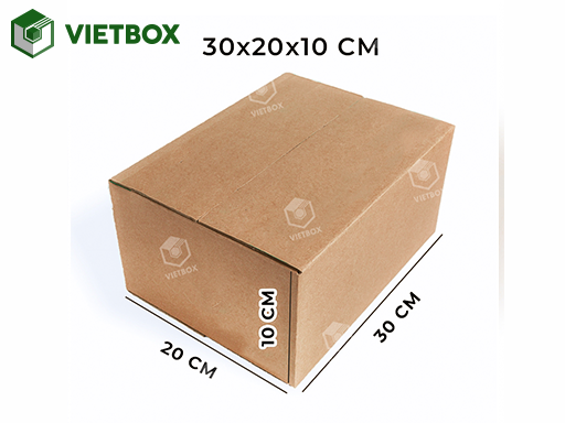 Hộp carton 30x20x10