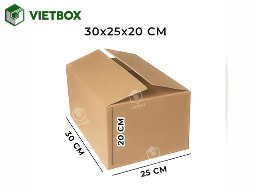 Hộp carton 30x25x20