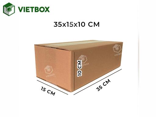 Hộp carton 35x15x10