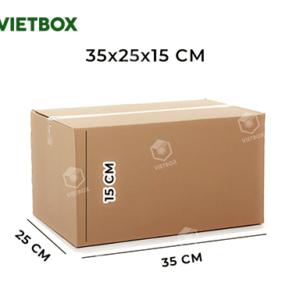 Hộp carton 35x25x15
