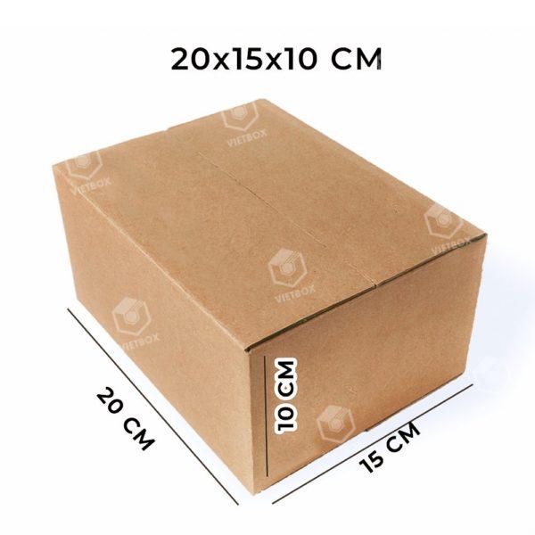 Hộp carton 20x15x10