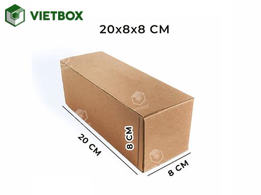 hộp carton 20x8x8