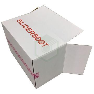 Thùng carton trắng in Flexo