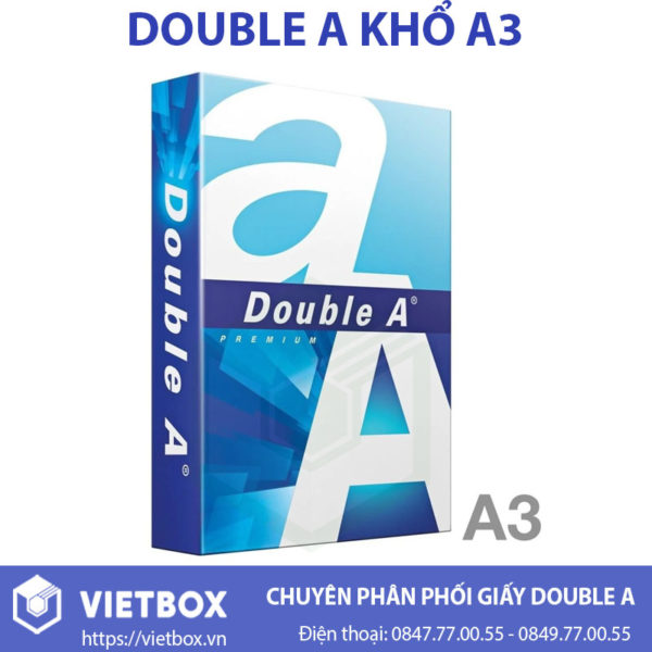 Giấy Double A A3