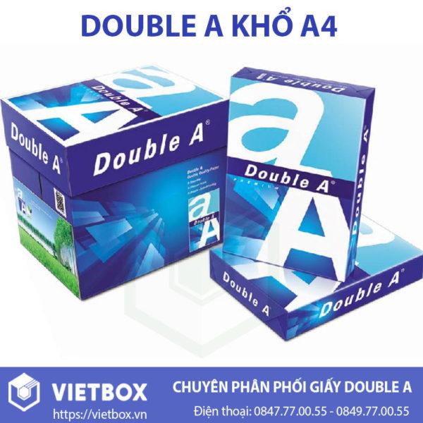 Giấy Double A khổ A4