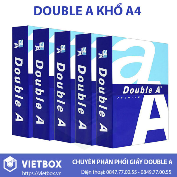 Double A khổ A4
