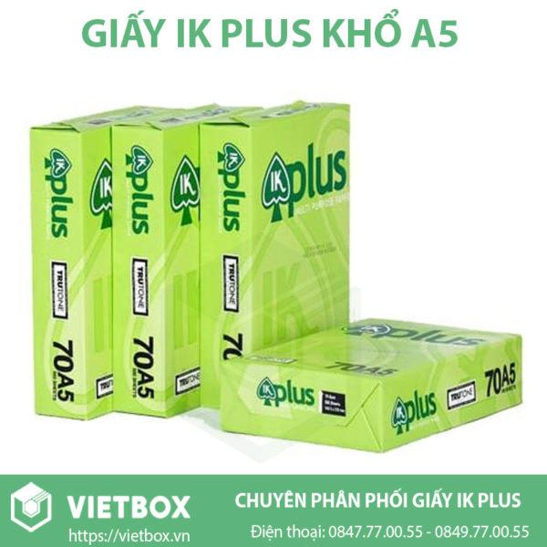 Giấy IK Plus A5 chính hãng