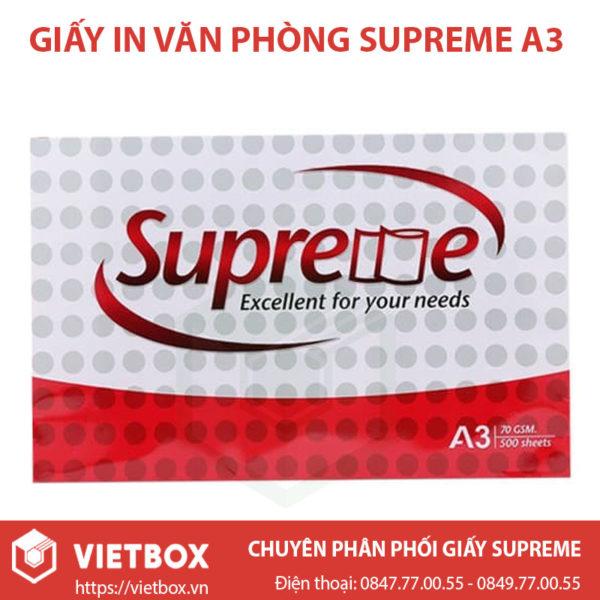 Giấy Supreme A3
