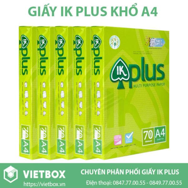 Giấy in IK Plus A4